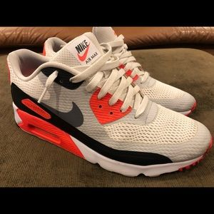 NIKE AIR MAX 90 ULTRA ESSENTIAL INFRARED Size 12